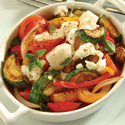 Roasted Vegetables with Feta Cheese