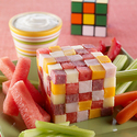 Watermelon Rubiks Cube