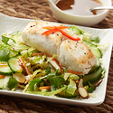 Szechwan Alaska Halibut and Savoy Slaw