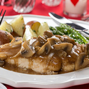Chicken Marsala for Two